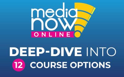 Media Now Online: Deep-Dive into Each Topic